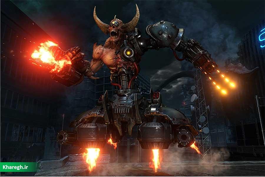 یک گیمر معلول با استفاده از کنترلر Xbox Adaptive بازی Doom Eternal را تمام کرد