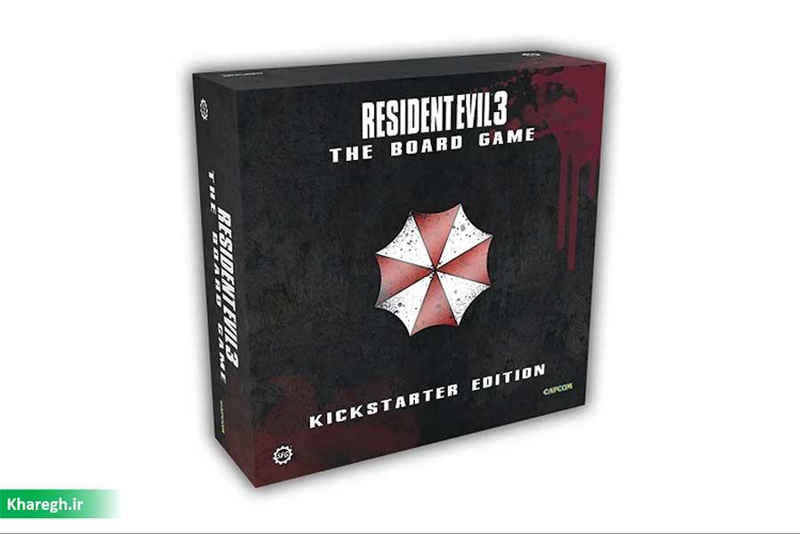 کمپین کیک استارتر Resident Evil 3: The Board Game بهزودی برگزار میشود