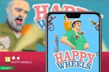 معرفی بازی موبایل Happy Wheels؛ چرخ های مرگبار