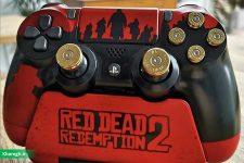 کنترلر پلی استیشن ۴ با طرح Red Dead Redemption 2 با طراحی فوقالعادهای معرفی شد